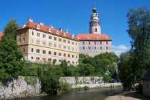 Schloss in Český Krumlov