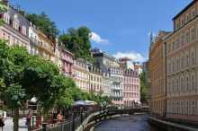 la rivière Teplá - Karlovy Vary