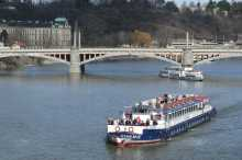 One-hour river cruise on the Vltava River