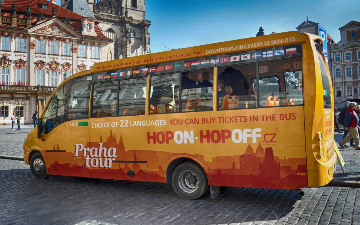 24-hour Hop On - Hop Off Bus