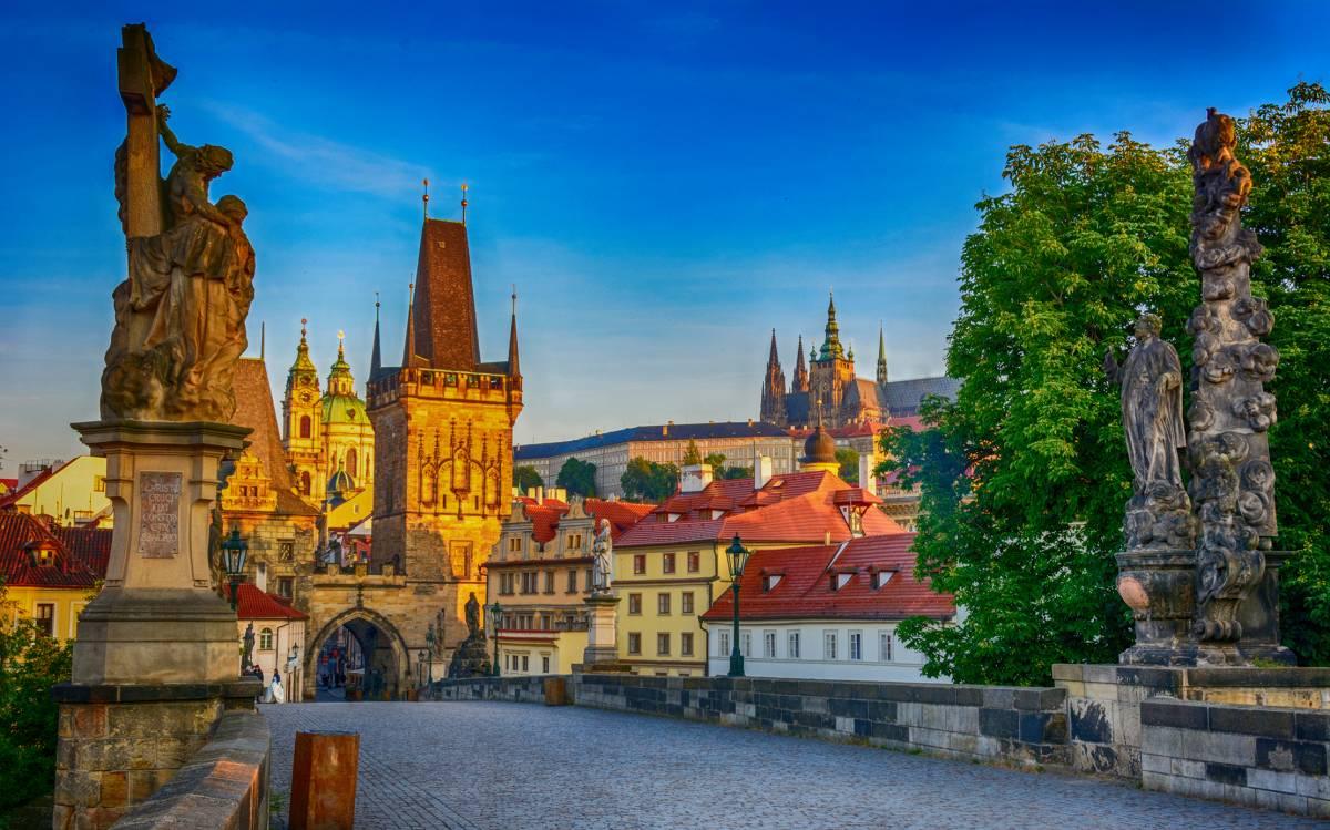 Velká okružní jízda + Pražský hrad + Karlův most